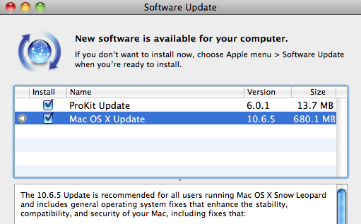 Mac OS X 10.6.5 Now Available To Download (Snow Leopard Update)