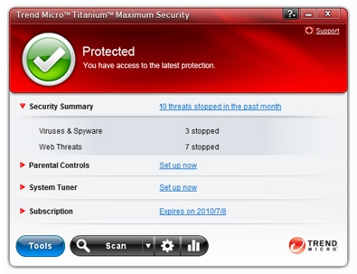 titanium-maximum-security-main-window