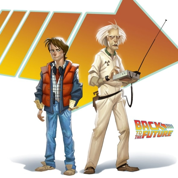 back-to-the-future-game-marty-mcfly-doc-brown-character-design