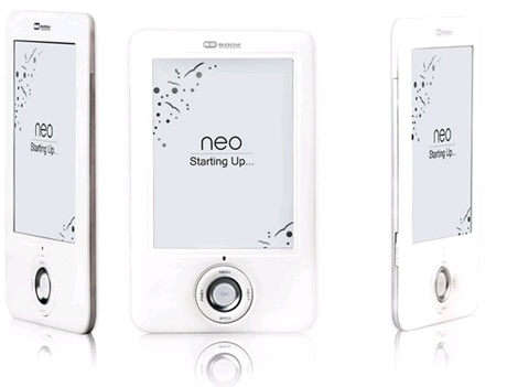 bebook-neo-white-e-book-reader