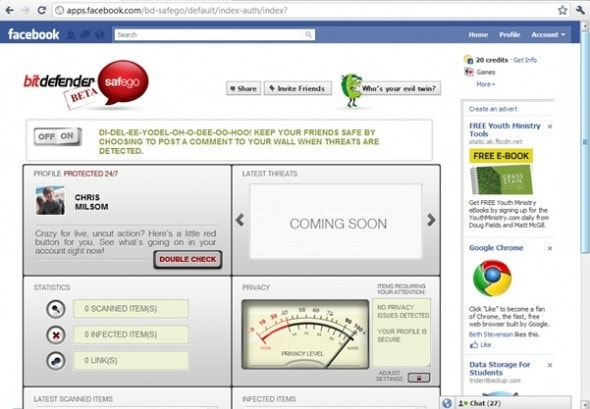 bitdefender-safego-facebook-security-scanner-app-screenshot