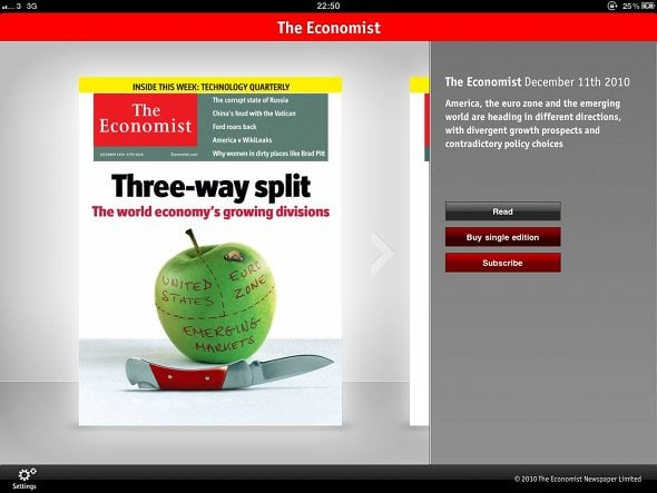 the-economist-ipad-menu