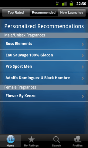 iperfumer-android-ios-recommendations