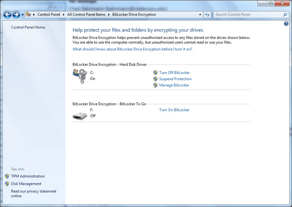 how to bitlocker whole drive