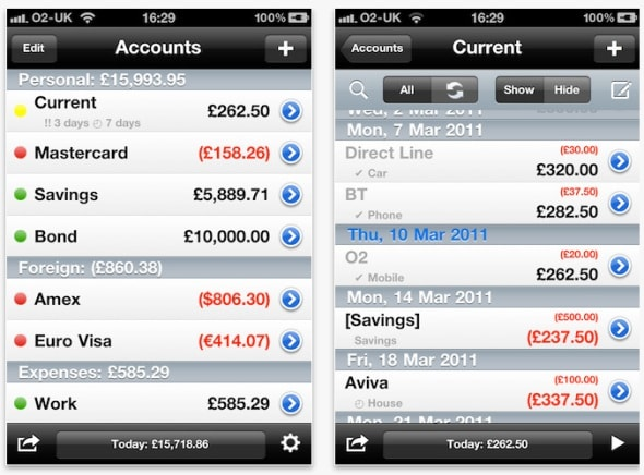 account-tracker-iphone-app-screenshot