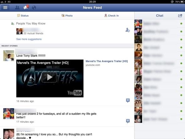 facebook-ipad-news feed
