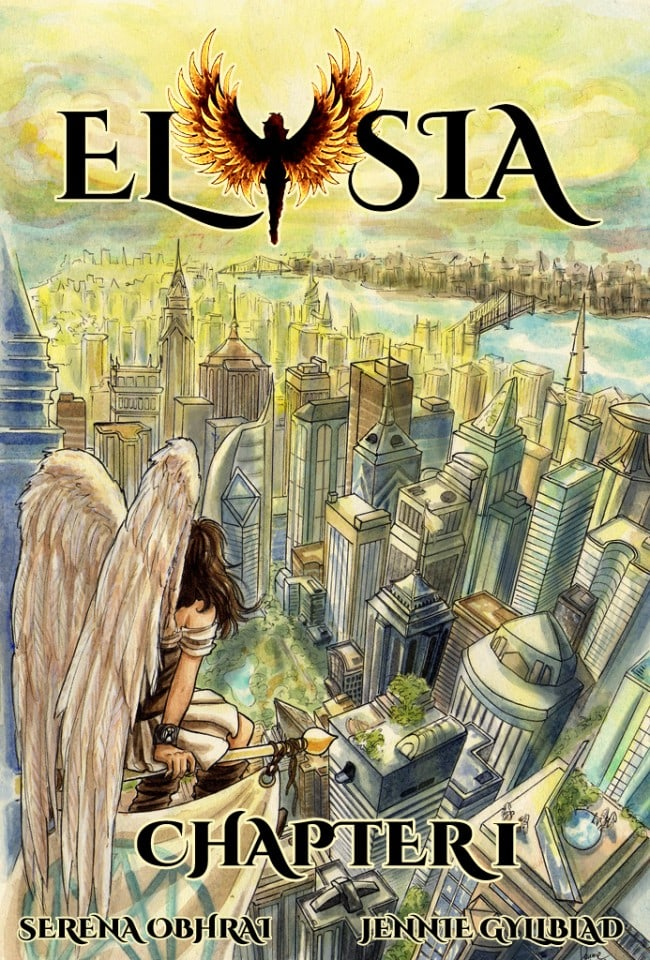 elysia-comic-graphic-novel-chapter-1-cover