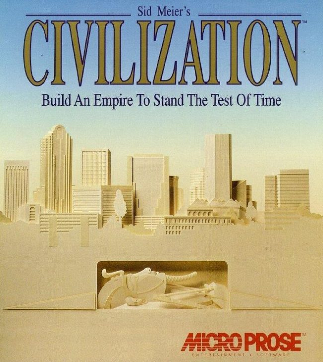Civilization 1 Box Art - Microprose