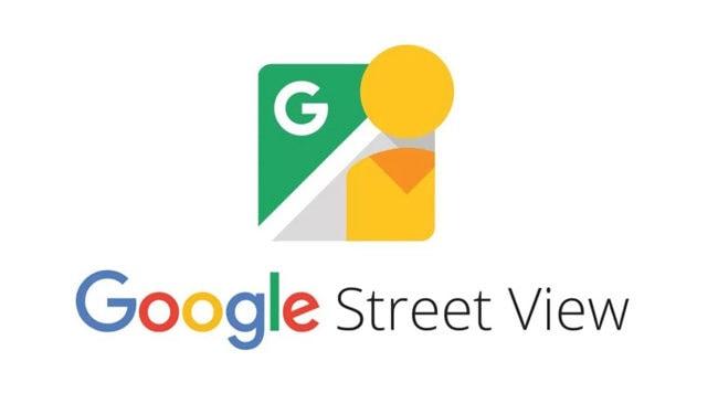 Google Maps Street View Logo