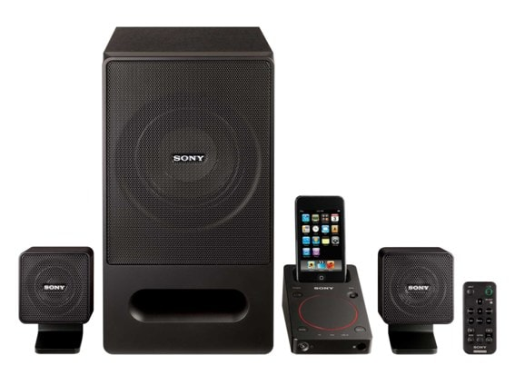 Sony SRS-GD50iP PC Speakers Review (inc iPhone/iPod Dock)